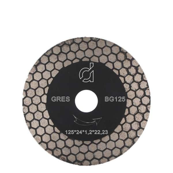Disco diamantato per il taglio e la sbavatura del gres porcellanato