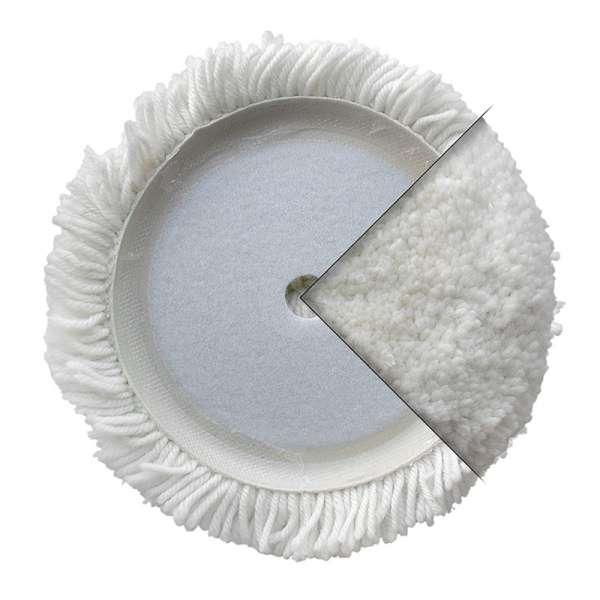Disco in lana attorcigliata con velcro