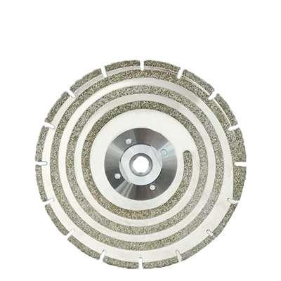 Disco diamantato elettrodeposto Wind ventilato su ambo i lati diam.230