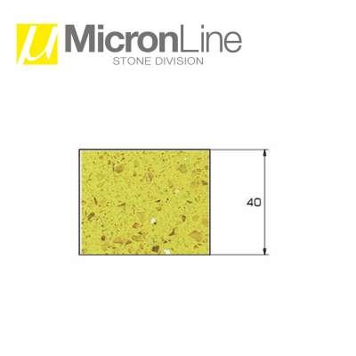 Mola diamantata U Micron Profilo Z40 per macchine CNC