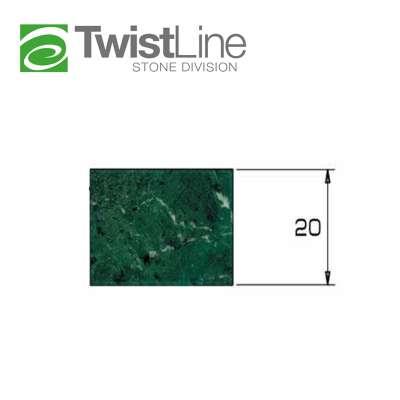 Mola diamantata Profilo Z 20 Twist line per macchine CNC