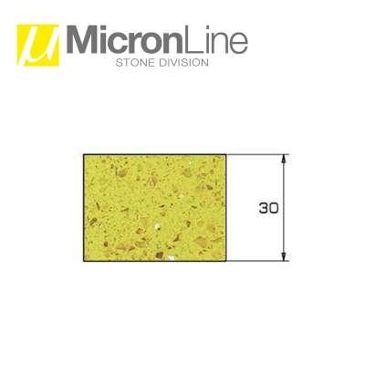 Mola diamantata Profilo Z 30 Micron Line per macchine CNC