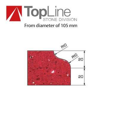 Mole Sagomate Diamantate Profilo F+Z40 Top Line