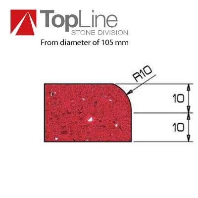 Mole Diamantate Cnc Profilo A 20