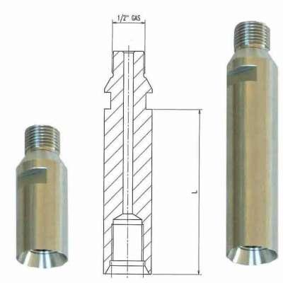 Prolunga adattatore 1/2 Gas Maschio 1/2 Gas femmina
