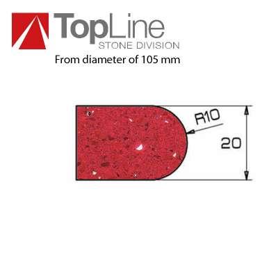 Mola diamantate e lucidanti Profilo V20 Adi Tools